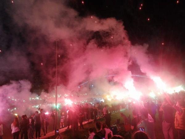 Bursaspor taraftarının büyük sevinci