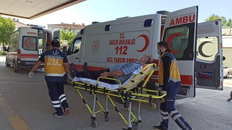 Bursa'da otomobil ile servis aracı çarpıştı; 7 yaralı