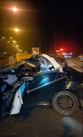 Tıra çarpan otomobil: 1 kişi ağır yaralı