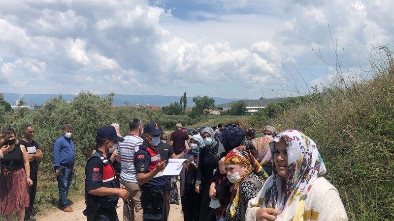 Bursa'da midibüs devrildi: 4 yaralı