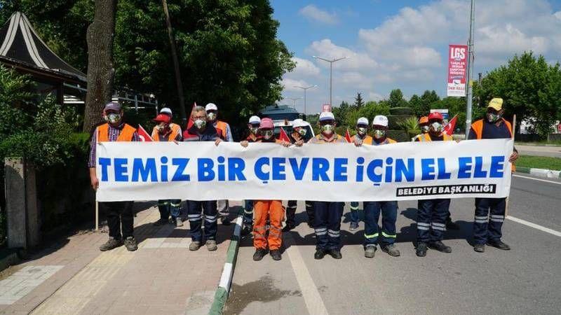Bursa'da Mustafakemalpaşa Belediyesi Dünya Çevre Günü'nü kutladı