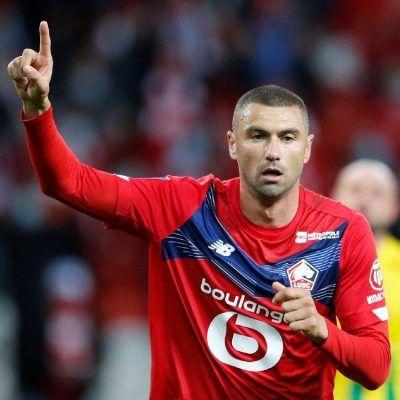 Fransa Ligue 1'de sezonun oyuncusu Burak Yılmaz
