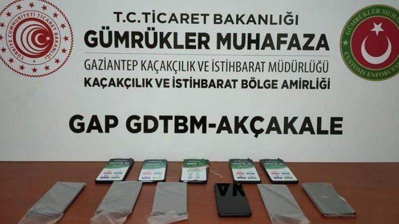 Şanlıurfa'da telefon kaçakçılığı