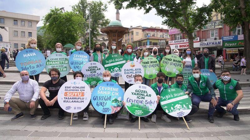 Bursa Büyükşehir'den 'Dünya Çevre Haftası' etkinlikleri