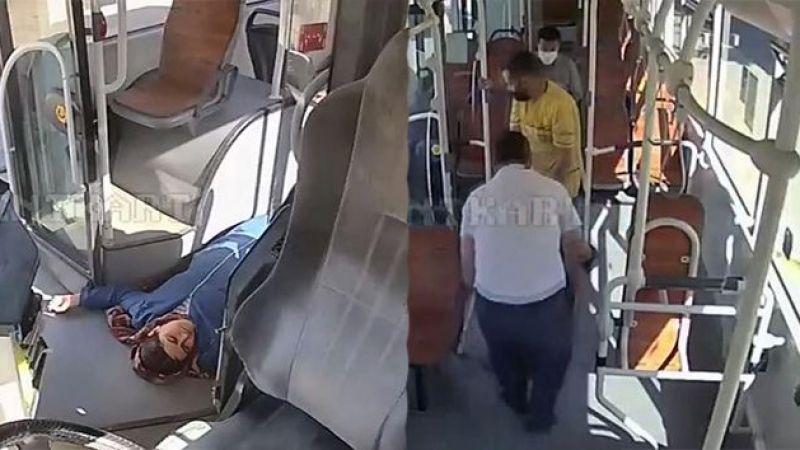 Kahraman otobüs şoförü hayat kurtardı!
