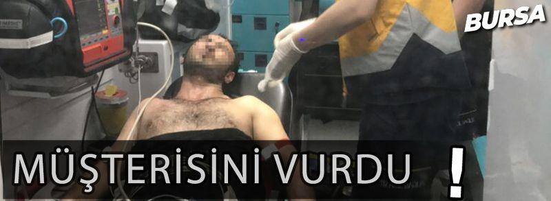 Bursa'da uyuşturucu sattığı müşterisini vurdu