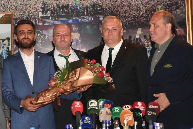 Bursaspor'da mazbata töreni