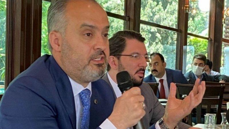 Bursa Büyükşehir Belediye Başkanı Alinur Aktaş'tan Bursaspor açıklaması