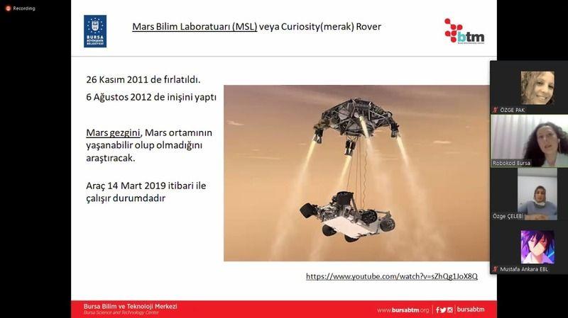 Bursa Büyükşehir Belediyesi bilim eve sığar projesi