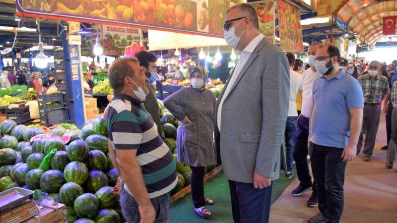 Bursa Karacabey'de yeni pazar yeri projesi geleceğe hitap edecek