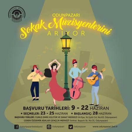 Eskişehir'de Odunpazarı ilçesi sokak müzisyenlerini arıyor