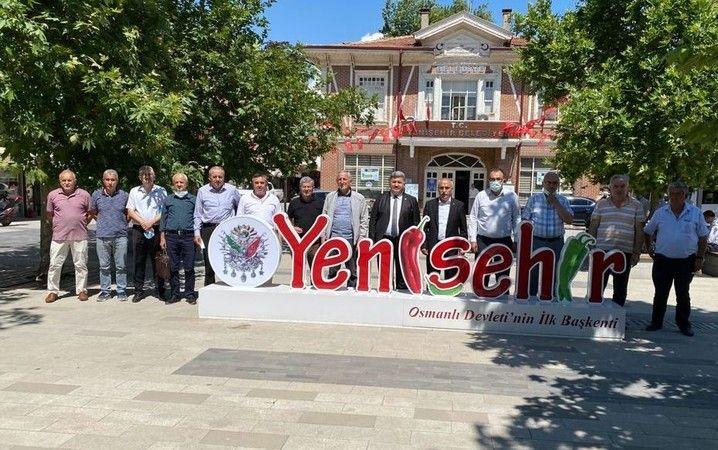 Komisyon üyeleri Bursa Yenişehir'de incelemelerde bulundu