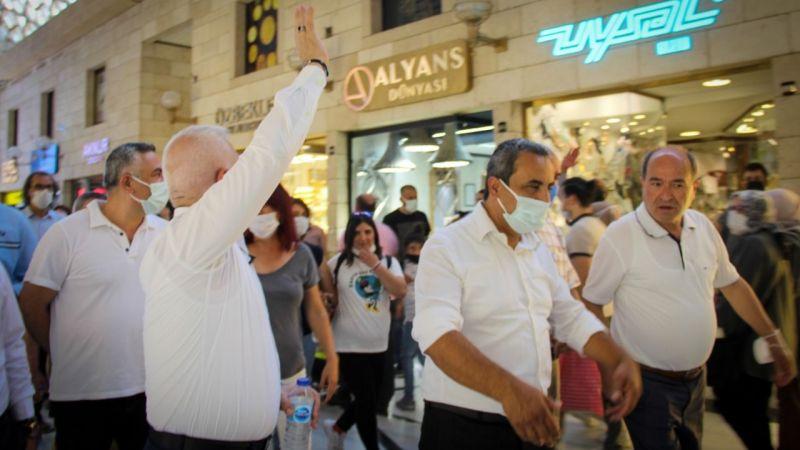 Mustafa Bozbey'den Ulucami esnafına ziyaret