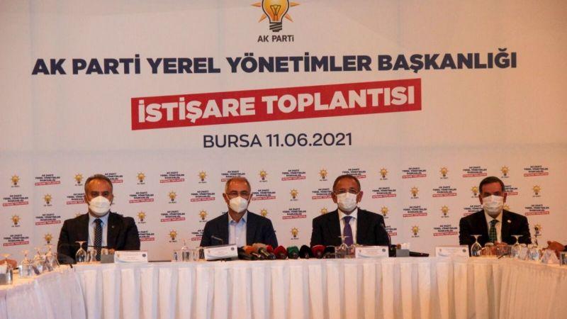 Bursa'da AK Parti Genel Merkez Yerel Yönetimler Başkanlığı İstişare Toplantısı