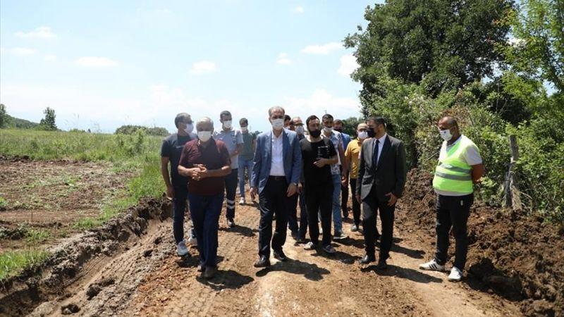Bursa İnegöl'de çiftçiye tam destek