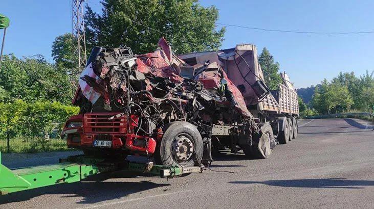 Yalova- Bursa yolunda feci kaza