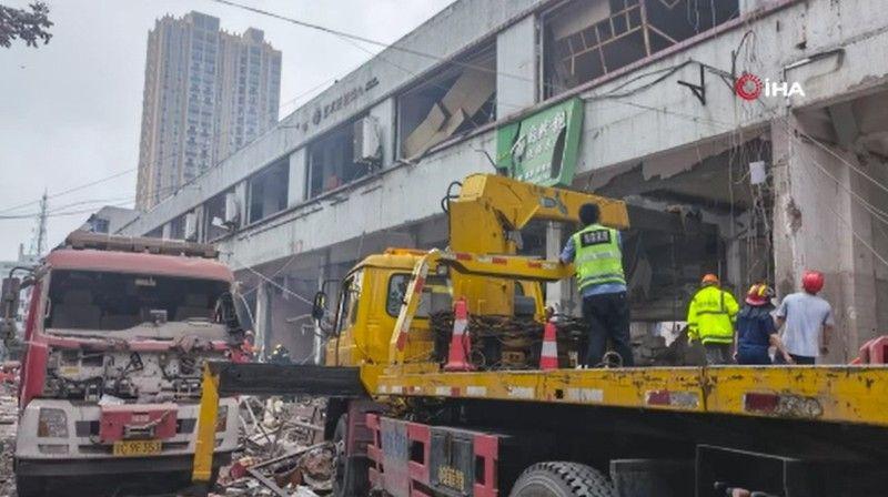 Çin'deki doğal gaz patlamasında ölü sayısı 12'ye yükseldi