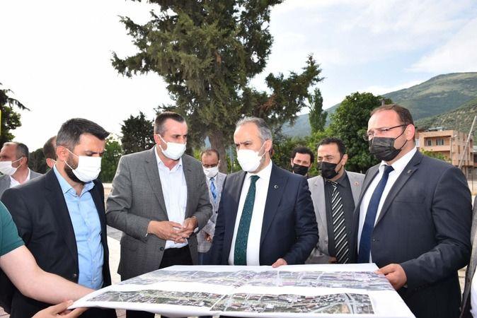 Bursa Büyükşehir Belediyesi'nden Gemlik çalışmaları