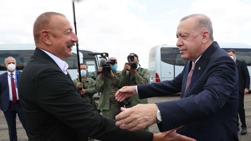 Cumhurbaşkanı Erdoğan ve Aliyev Fuzuli'de buluştu