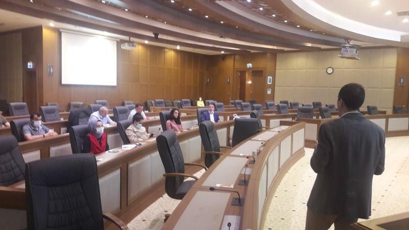 Bursa Büyükşehir Belediyesi'nden personele mevzuat eğitimi