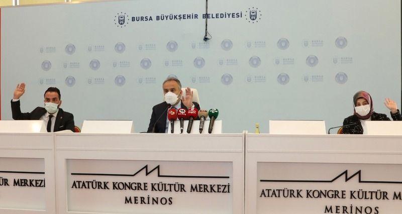 Bursa Büyükşehir Belediyesi çevrecileri ödüllendirdi