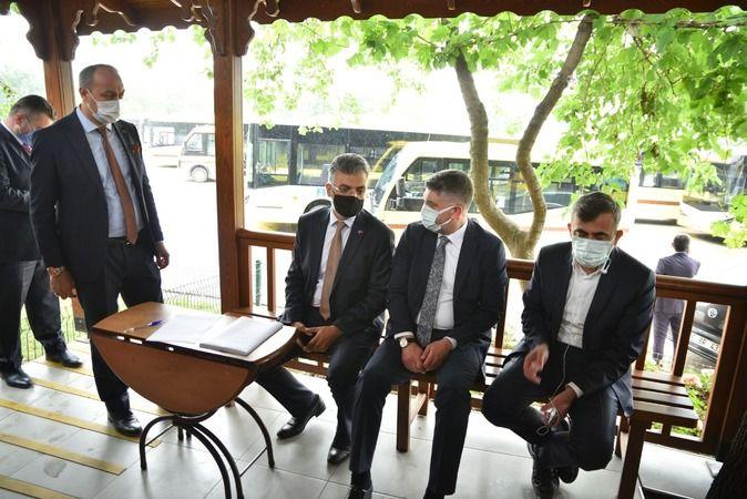 Bursa Büyükşehir Belediyesi otobüs şoförlerine aşı