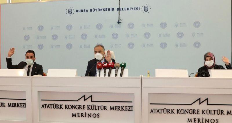 Bursa Büyükşehir Belediyesi Haziran Ayı Meclis Toplantısı yapıldı