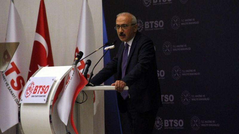 """Bakan Elvan Bursa'da açıkladı """" """"Enflasyonla mücadele tüm politikalarımızın merkezinde yer alıyor."""""""