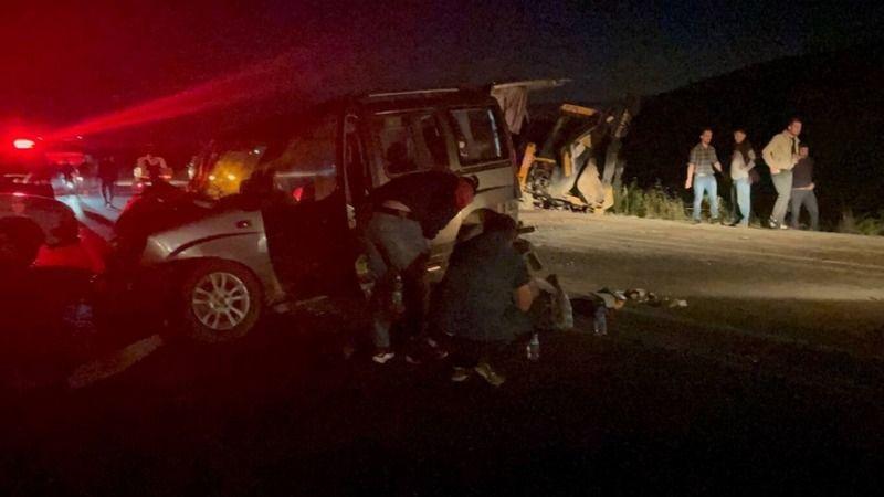 Bursa'da zincirleme kazada 1 ölü