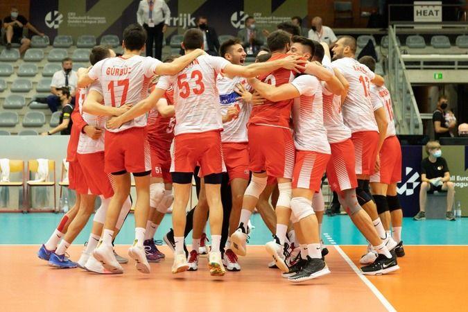 A Milli Erkek Voleybol Takımı, Avrupa Altın Ligi şampiyonu