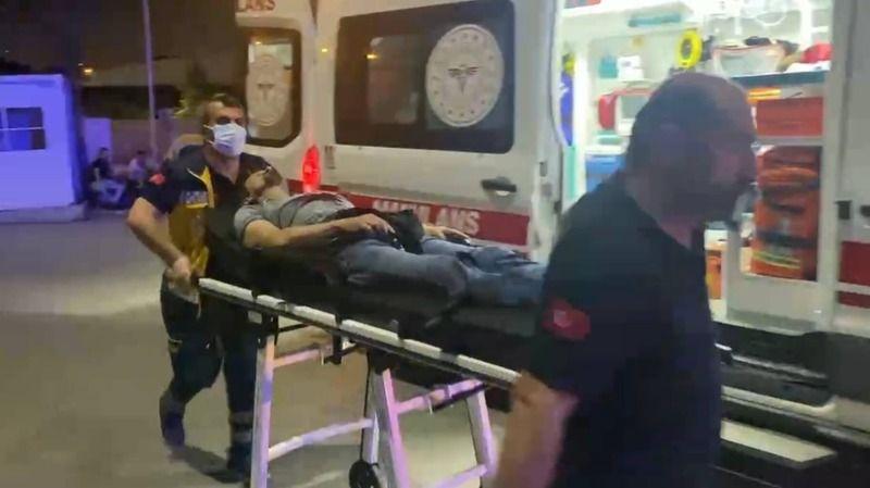 Bursa'da baba ve oğluna tornavida ile saldırdı