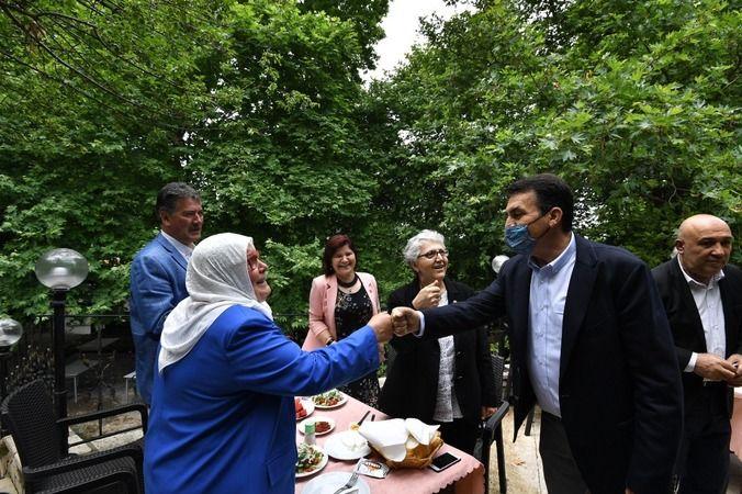 Osmangazi Belediye Başkanı Dündar muhtarlar ile buluştu