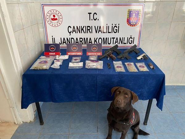 Çankırı'da uyuşturucu operasyonu: 3 tutuklama
