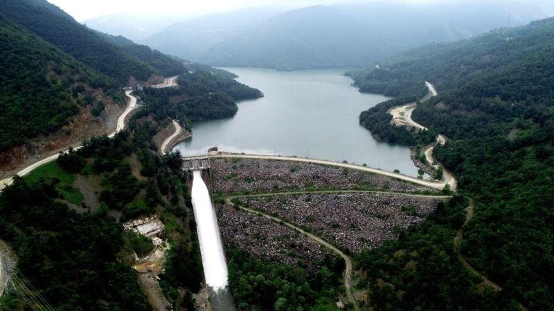 Bursa'da yağışlar sevindirdi, barajlar dolmaya başladı