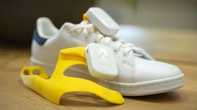 Japonlar görme engellilere yol gösteren ayakkabı üretti