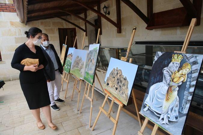 Afyonkarahisar'da '3 Kent 1 Medeniyet' konulu resim sergisi açıldı