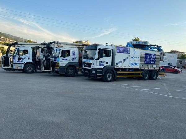 Bursa Büyükşehir Belediyesi İstanbul müsilaj temizliğine destek