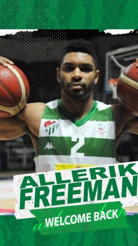 Frutti Extra Bursaspor, Allerik Freeman'ı transfer etti