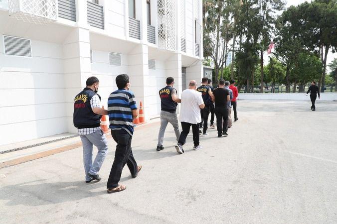 Mersin'de fuhuş operasyonu:7 gözaltı