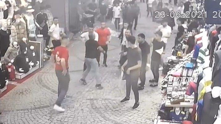 İstanbul Fatih'te iki esnaf arasında silahlı kavga