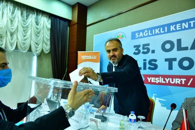 Sağlıklı Kentler Birliği'nin 35. Olağan Meclis Toplantısı Malatya'da gerçekleşti
