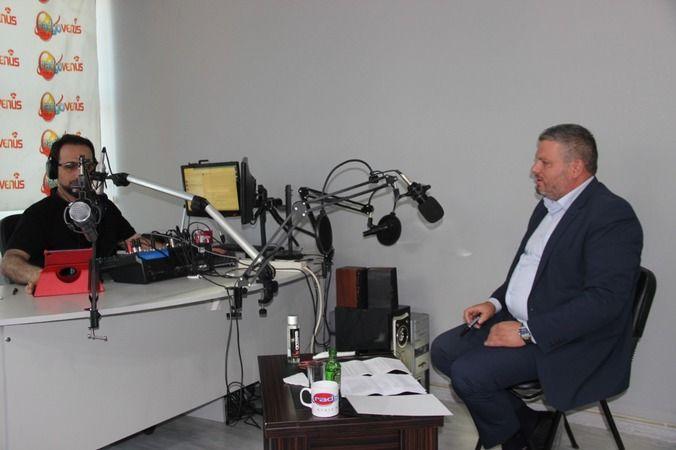 Radyo Venüs'ün konuğu AK Parti Gürsu İlçe Başkanı Zekeriya Hacıoğlu
