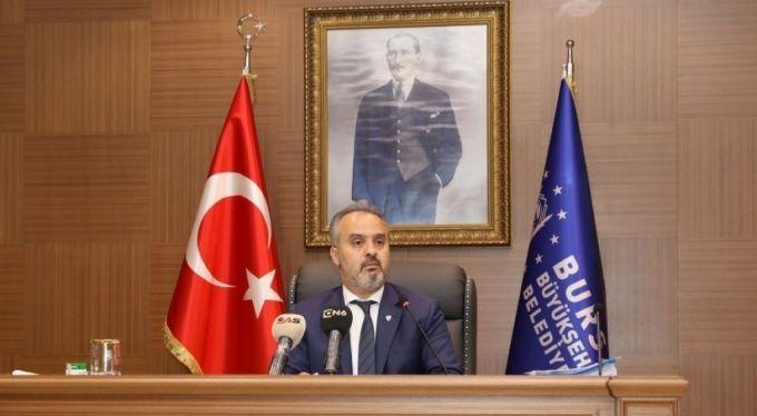 Başkan Aktaş, Kestel'e yapılacak aktarma istasyonuyla ilgili açıklamalar