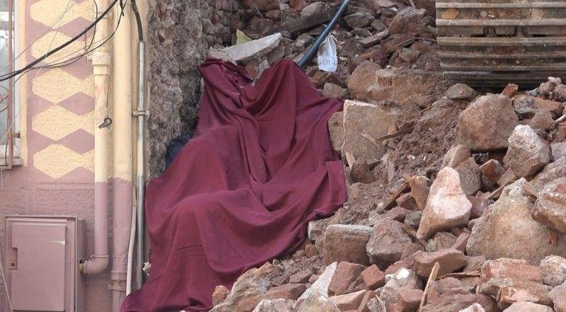 Bursa'da eski binanın yıkım çalışmasında ölüm
