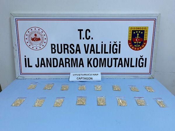 Bursa'da uyuşturucu operasyonu: 2 gözaltı