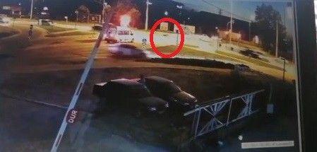 Bursa'da trafik kazası: Otomobil ve motosiklet çarpıştı