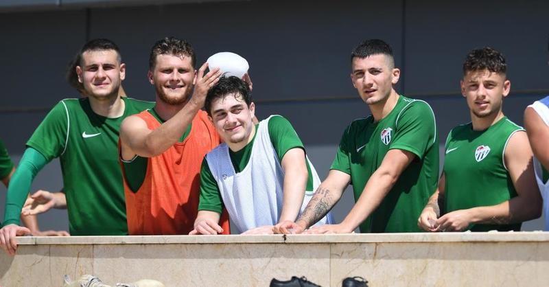 Bursaspor'da yeni sezon hazırlıkları devam ediyor