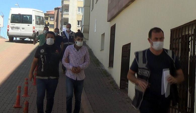 Kayseri'de kargo aracında uyuşturucu çıktı