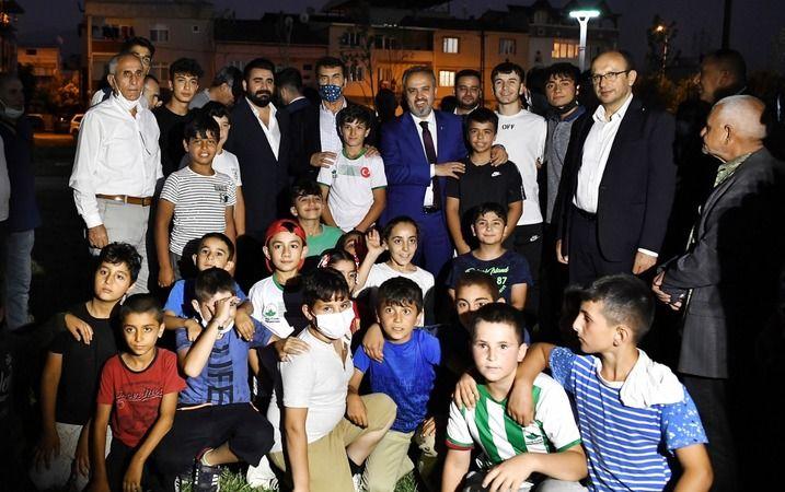 Osmangazi'de spor yatırımları hız kesmiyor