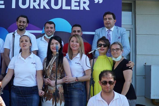 A-PLAS 'ARİF AĞAOĞLU KOROSUNDAN' HUZUREVİ SAKİNLERİNE BAYRAM KONSERİ